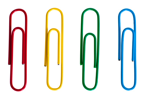 Paper Clip「Paper clips」:スマホ壁紙(8)