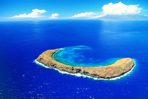 海「Molokini Crater, Maui, Hawaiian Islands」:スマホ壁紙(10)