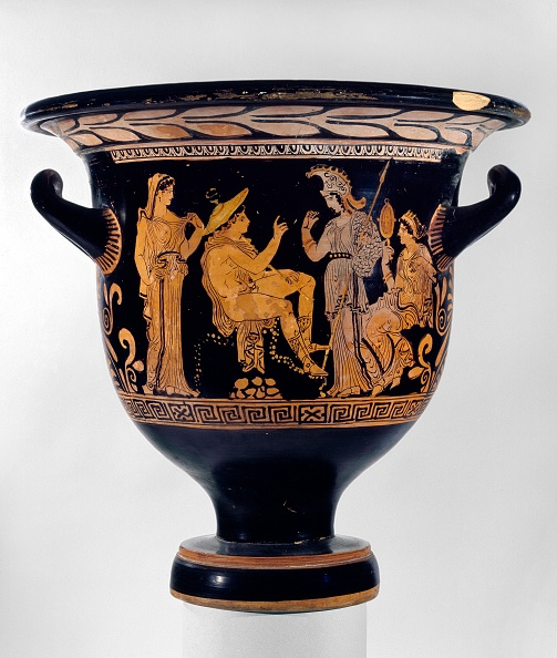 Classical Greek「Red-Figure Apulian Bell-Crater」:写真・画像(4)[壁紙.com]