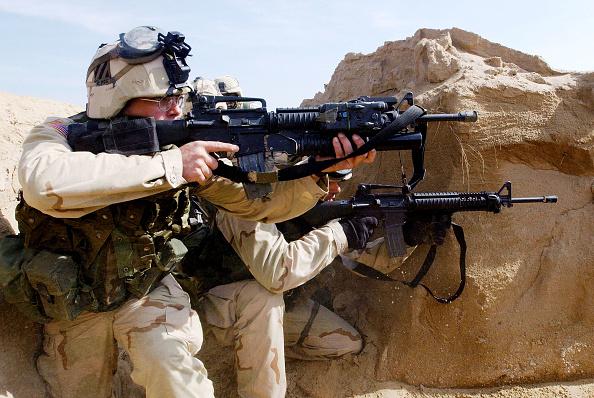 US Military「U.S. Troops Train In Kuwait」:写真・画像(6)[壁紙.com]
