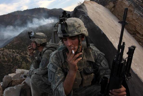 Taliban「U.S. Forces Battle Taliban In Kunar Province」:写真・画像(16)[壁紙.com]