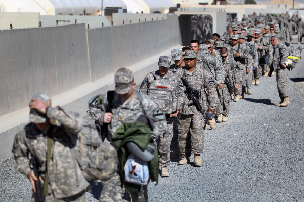 Middle East「U.S. Forces Withdraw From Iraq Into Kuwait, After 8-Year Presence」:写真・画像(14)[壁紙.com]
