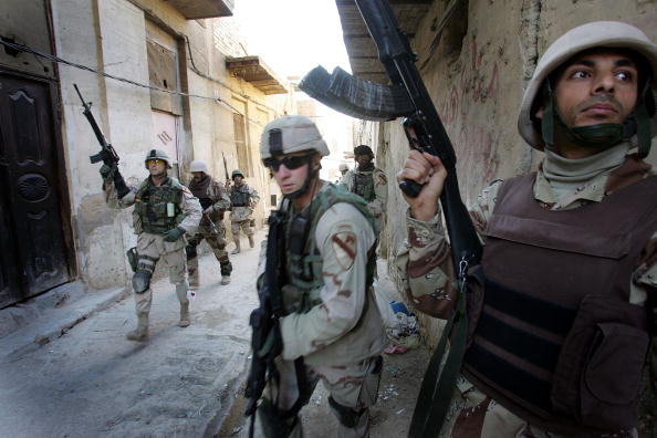 Motion「U.S. And Iraq Forces Patrol Baghdad」:写真・画像(19)[壁紙.com]