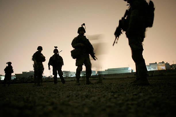 U.S. Army's 82nd Airborne Patrols Baghdad:ニュース(壁紙.com)