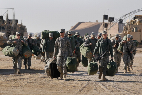 Military Base「U.S. Forces Prepare To Withdraw From Iraq After 8-Year Presence」:写真・画像(12)[壁紙.com]
