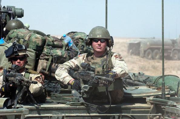 Military Base「U.S. Troops Prepare For Possible Najaf Operation」:写真・画像(11)[壁紙.com]