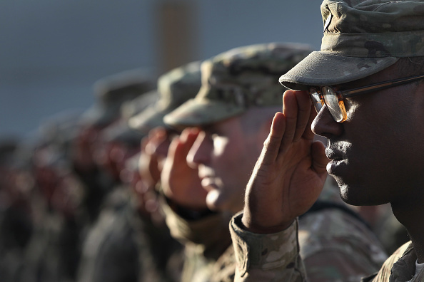 Army Soldier「U.S. Soldiers Commemorate 9/11 Anniversary At Bagram Air Field」:写真・画像(7)[壁紙.com]