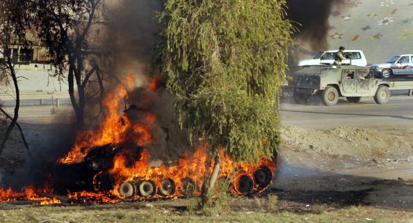 Baghdad「U.S. Army Vehicle Hit By Roadside Explosive」:写真・画像(17)[壁紙.com]