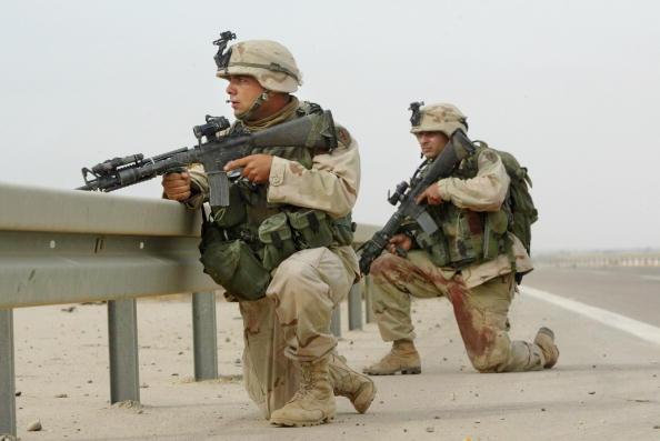 Iraq War 2003-2011「Two U.S. Soldiers Killed in Fallujah, Iraq」:写真・画像(8)[壁紙.com]