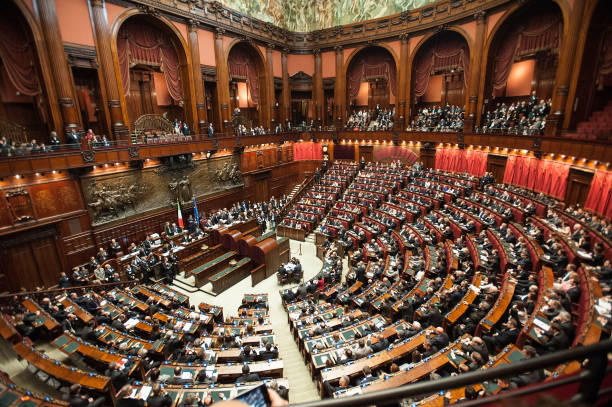 Italy's Parliament Holds First Session:ニュース(壁紙.com)