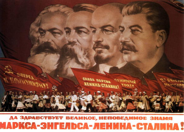 Politics「Propaganda poster : Karl Marx, Friedrich Engels, Lenin and Stalin, 1953.」:写真・画像(13)[壁紙.com]