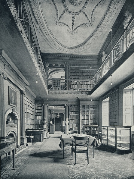 Ceiling「'College Library: The Central Portion', 1926」:写真・画像(15)[壁紙.com]