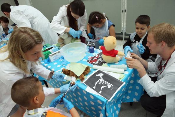 Stuffed「Charite Hospital Hosts Annual Teddy Bear Clinic」:写真・画像(19)[壁紙.com]
