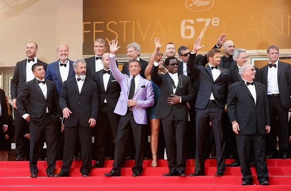 """Victor Ortiz「""""The Expendables 3"""" Premiere - The 67th Annual Cannes Film Festival」:写真・画像(9)[壁紙.com]"""