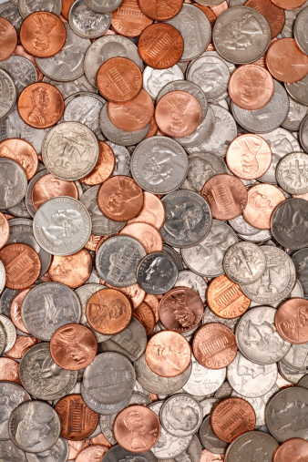 Currency「Coins」:スマホ壁紙(7)