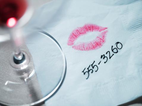 Telephone Number「Lipstick on Napkin」:スマホ壁紙(9)