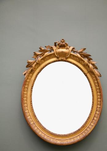 Mirror - Object「Blank round frame.」:スマホ壁紙(19)