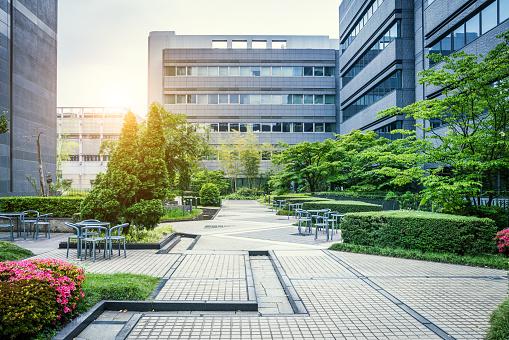 Japanese Culture「Office Park in Japan」:スマホ壁紙(9)