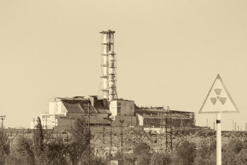 1980-1989「Chernobyl Nuclear reactor 4」:スマホ壁紙(1)
