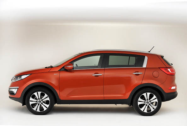 Side View「2013 Kia Sportage」:写真・画像(19)[壁紙.com]