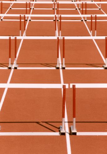 Hurdle「Hurdles on Running Track」:スマホ壁紙(16)