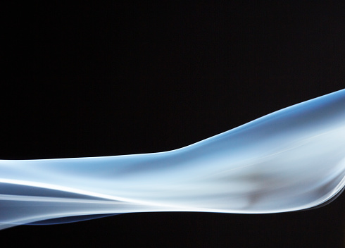 Growth「Blue Smoke Flowing Longitudinally」:スマホ壁紙(12)