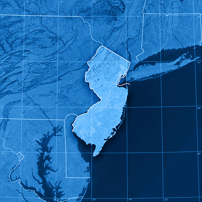 Latitude「New Jersey Topographic Map」:スマホ壁紙(1)