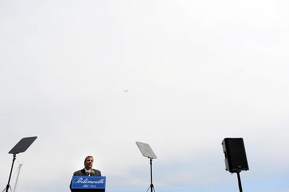 2016年米大統領選 共和党候補「NJ Governor Chris Christie Gives Foreign Policy Speech In New Hampshire」:写真・画像(16)[壁紙.com]