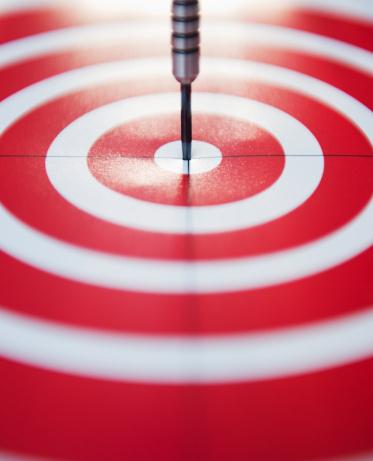 Sports Target「USA, New Jersey, Jersey City, Close up of darts bull's-eye」:スマホ壁紙(11)
