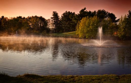 Water Hazard「New Jersey Golf at Sunrise」:スマホ壁紙(4)