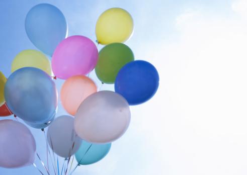 風船「Balloons」:スマホ壁紙(9)