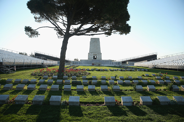 Sean Gallup「The Gallipoli Campaign: Gravestones Of Fallen Soldiers」:写真・画像(13)[壁紙.com]