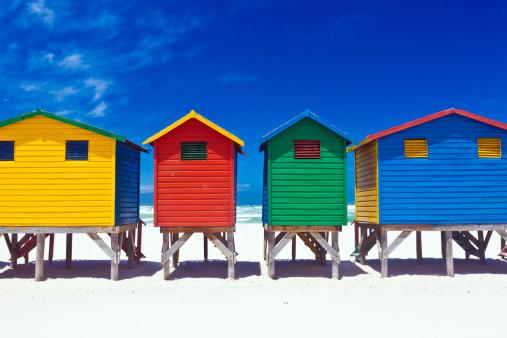 Changing Cubicle「Beach Huts」:スマホ壁紙(4)