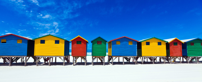 Changing Cubicle「Beach Huts」:スマホ壁紙(8)