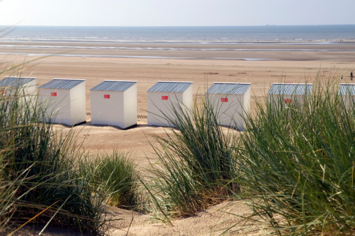 West Flanders「Beach Huts」:スマホ壁紙(16)