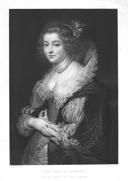 Engraving「The Wife Of Rubens」:写真・画像(9)[壁紙.com]