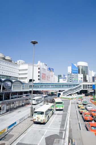 Shibuya Ward「Southern Entrance of Shibuya Station」:スマホ壁紙(11)