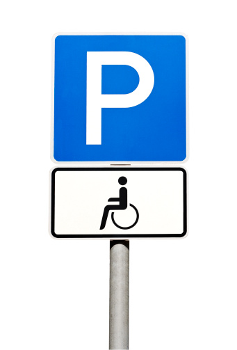 Paying「German road sign - parking for disabled people only」:スマホ壁紙(6)