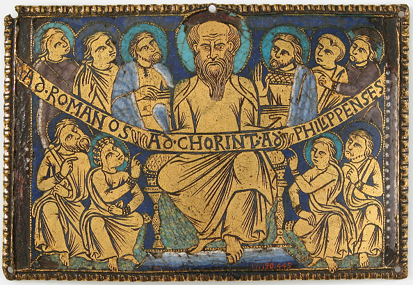 Information Medium「Plaque With Saint Paul And His Disciples」:写真・画像(18)[壁紙.com]