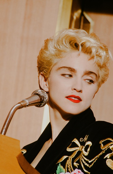 Press Room「Madonna At Press Conference」:写真・画像(16)[壁紙.com]