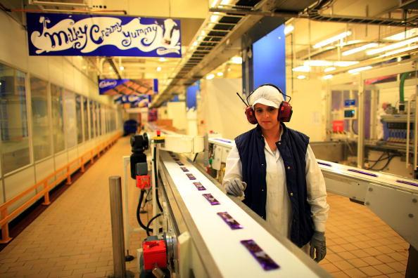 Cadbury Plc「Chocolate Production Continues At Cadbury During Hostile Takeover Bids」:写真・画像(14)[壁紙.com]