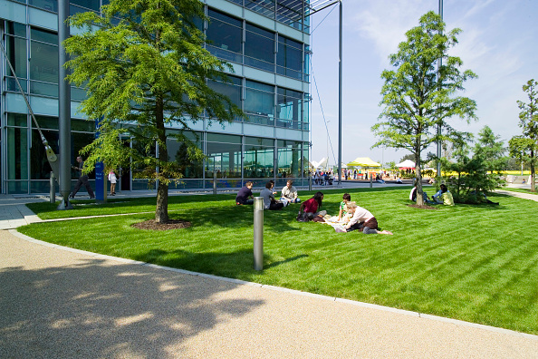 Environmental Conservation「Chiswick Business Park interior, London, UK Designed by Richard Rogers Chiswick Business Park is a new sustainable development in West London」:写真・画像(10)[壁紙.com]