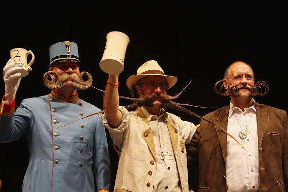 Mustache「World Beard Championships Take Place In Brighton」:写真・画像(3)[壁紙.com]