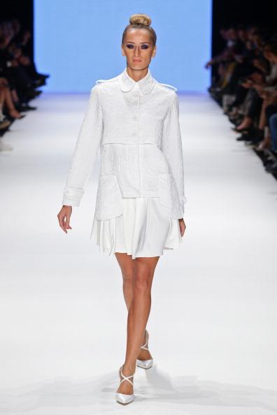 Flared Skirt「Kaf Dan By Elaidi - Runway - MBFWI S/S 2014 Presented By American Express」:写真・画像(10)[壁紙.com]