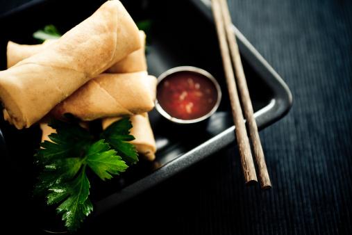 Vietnamese Cuisine「Spring rolls」:スマホ壁紙(6)