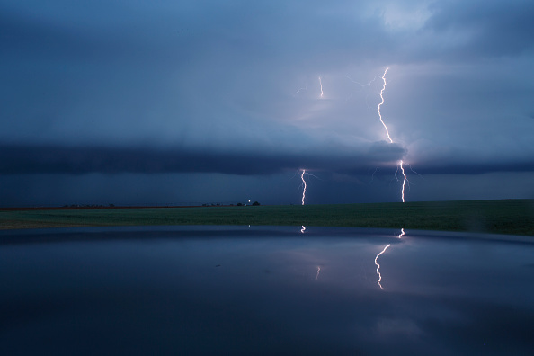 Thunderstorm「Center For Severe Weather Research Scientists Search For Tornadoes To Study」:写真・画像(4)[壁紙.com]