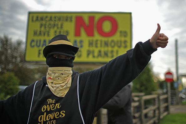 Shale「Demonstrators Protest At Lancashire Fracking Decision」:写真・画像(0)[壁紙.com]