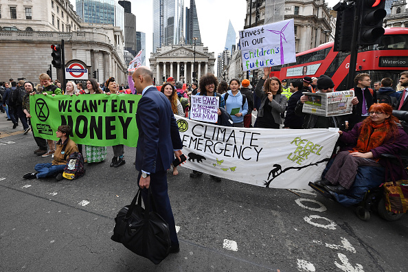Continuity「Extinction Rebellion Hold Final March Ahead Of Leaving London」:写真・画像(9)[壁紙.com]