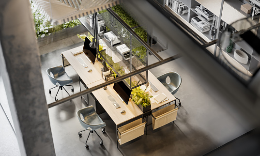 New Business「Environmentally friendly coworking office space」:スマホ壁紙(0)