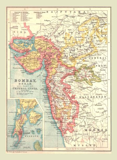 Map Of Bombay:ニュース(壁紙.com)
